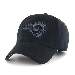 NFL Los Angeles Rams Black Classic Adjustable Hat