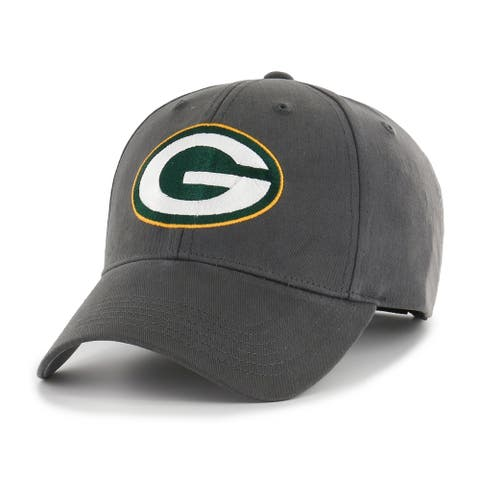 NFL Green Bay Packers Grey Adjustable Hat