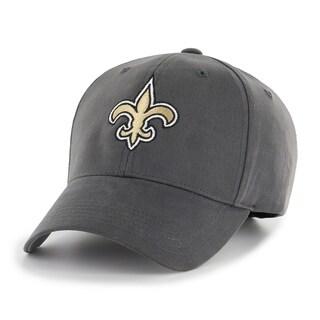 NFL New Orleans Saints Grey Adjustable Hat