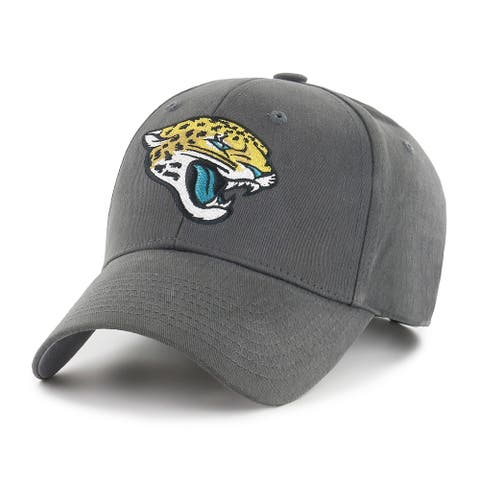 NFL Jacksonville Jaguars Grey Adjustable Hat