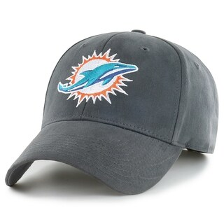 NFL Miami Dolphins Grey Adjustable Hat