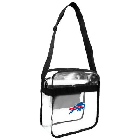NFL Buffalo Bills Clear Carryall Cross Gameday Bag