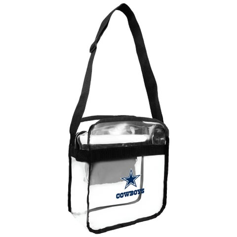 NFL Dallas Cowboys Clear Carryall Cross Gameday Bag