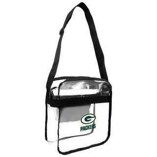 NFL Green Bay Packers Clear Carryall Cross Gameday Bag