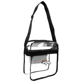 NFL Denver Broncos Clear Carryall Cross Gameday Bag