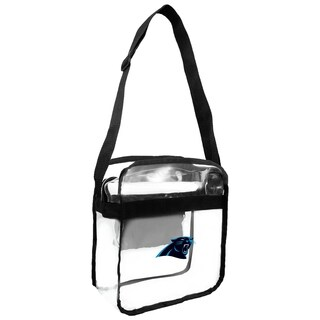 NFL Carolina Panthers Clear Carryall Cross Gameday Bag