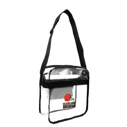 NFL Cleveland Browns Clear Carryall Cross Gameday Bag