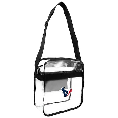 NFL Houston Texans Clear Carryall Cross Gameday Bag
