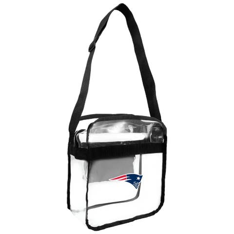 NFL New England Patriots Clear Carryall Cross Gameday Bag