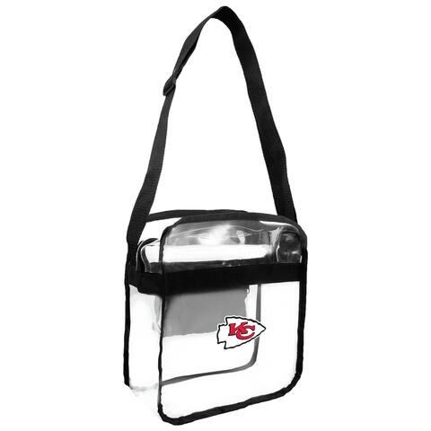 NFL Kansas City Chiefs Clear Carryall Cross Gameday Bag