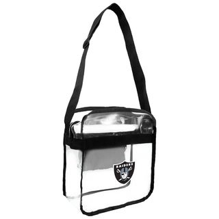 NFL Oakland Raiders Clear Carryall Cross Gameday Bag