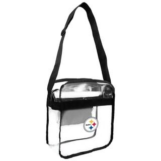 NFL Pittsburgh Steelers Clear Carryall Cross Gameday Bag