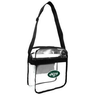 NFL New York Jets Clear Carryall Cross Gameday Bag