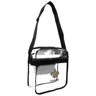 NFL New Orleans Saints Clear Carryall Cross Gameday Bag
