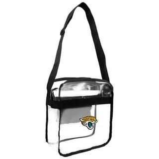 NFL Jacksonville Jaguars Clear Carryall Cross Gameday Bag