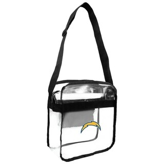 NFL Los Angeles Chargers Clear Carryall Cross Gameday Bag
