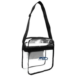 NFL Seattle Seahawks Clear Carryall Cross Gameday Bag