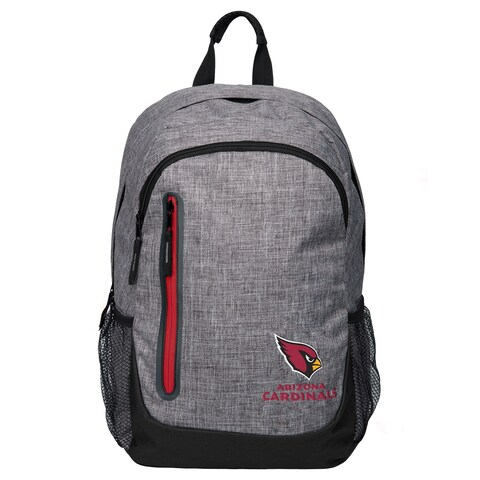 Forever Collectibles NFL Arizona Cardinals Heather Grey Bold Backpack