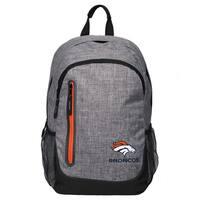 Forever Collectibles NFL Denver Broncos Heather Grey Bold Backpack