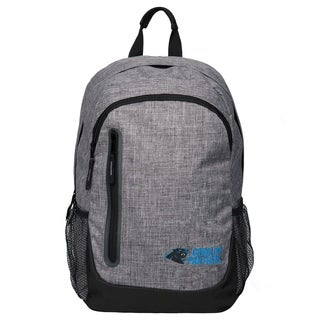 Forever Collectibles NFL Carolina Panthers Heather Grey Bold Backpack