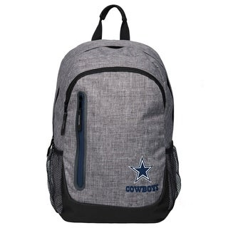 Forever Collectibles NFL Dallas Cowboys Heather Grey Bold Backpack