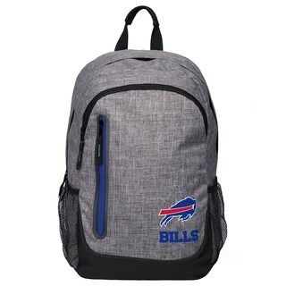 Forever Collectibles NFL Buffalo Bills Heather Grey Bold Backpack