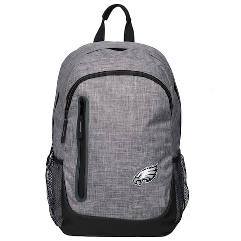 Forever Collectibles NFL Philadelphia Eagles Heather Grey Bold Backpack
