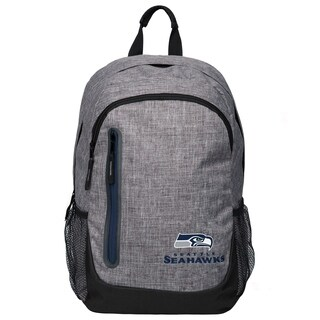 Forever Collectibles NFL Seattle Seahawks Heather Grey Bold Backpack