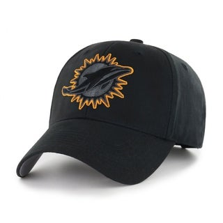 NFL Miami Dolphins Black Basic Adjustable Hat