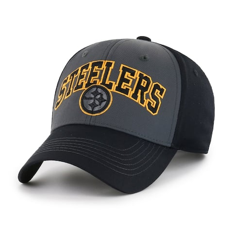 NFL Pittsburgh Steelers Blackball Script Adjustable Hat