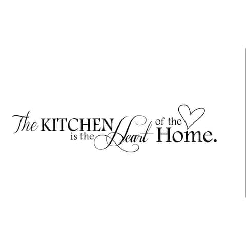Kitchen Wall Decal Kitchen Is Heart Of The Home
