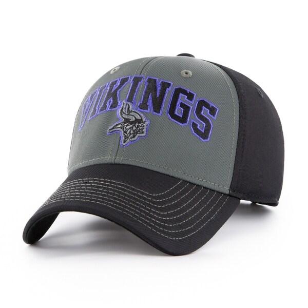 79c50dcb NFL Minnesota Vikings Blackball Script Adjustable Hat