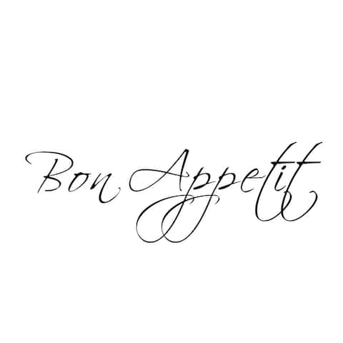 Kitchen Wall Decal Bonappetti