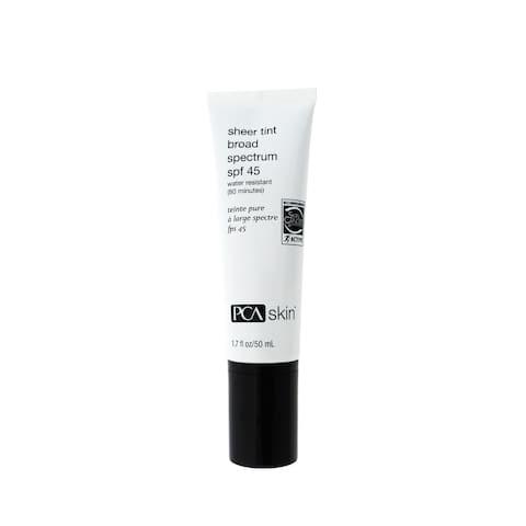 PCA Skin Sheer Tint 1.7-ounce Broad Spectrum SPF 45