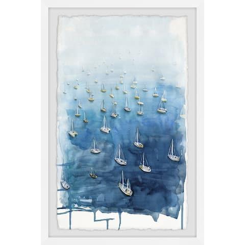 Marmont Hill - Handmade Yacht Getaways Framed Print