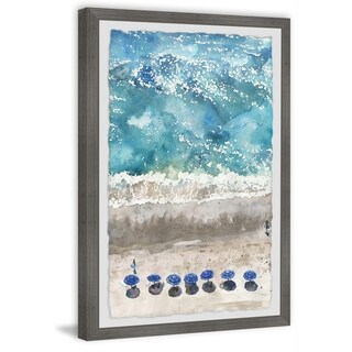 Marmont Hill - Handmade Blue Sunshade Framed Print