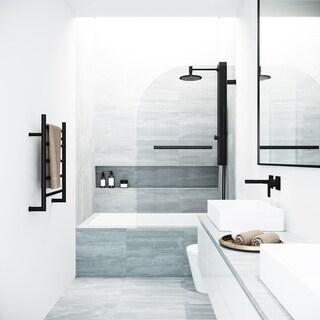 VIGO Orion Clear Bathtub Door