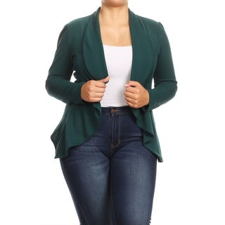 Link to Women's Casual Plus Size Loose Draped Lightweight Cardigan Similar Items in Women's Plus-Size Clothing