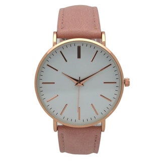 Olivia Pratt Analog Dial Leather Watch - One size