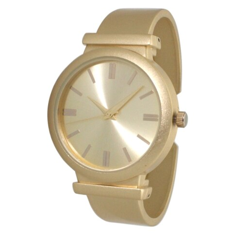 Olivia Pratt Matte Bangle Watch - One size