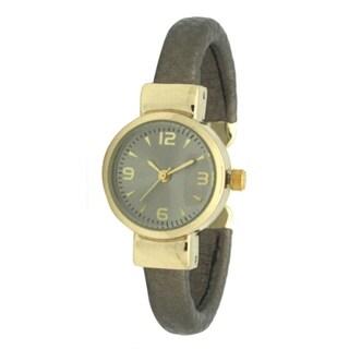 Olivia Pratt Metalic Bangle Watch - One size