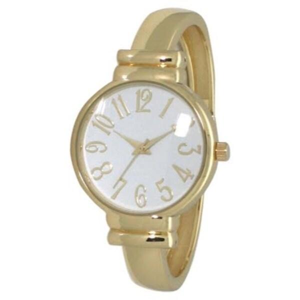 Olivia Pratt Elegant Bangle watch. Opens flyout.