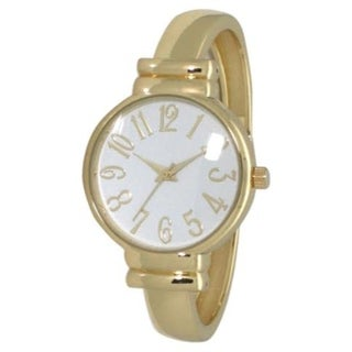 Olivia Pratt Elegant Bangle watch - One size