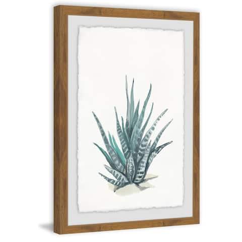 Marmont Hill - Handmade Tall Succulent Framed Print