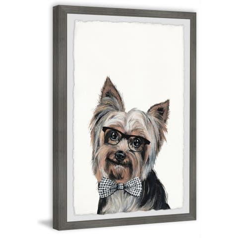Marmont Hill - Handmade Rockstar Puppy Framed Print