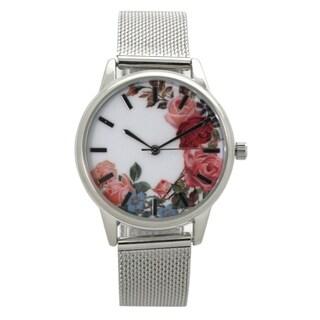 Olivia Pratt Mesh Band Watch - One size