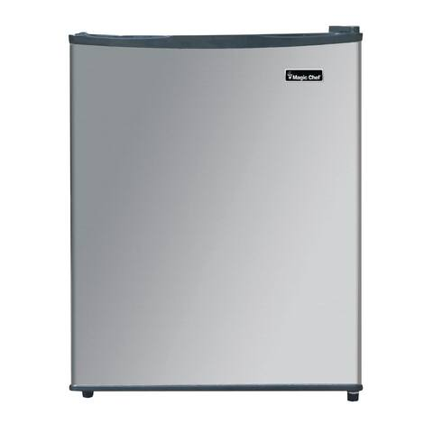 Magic Chef Freezerless 2.4 cu ft Mini Fridge Stainless Stee MCAR240SE2