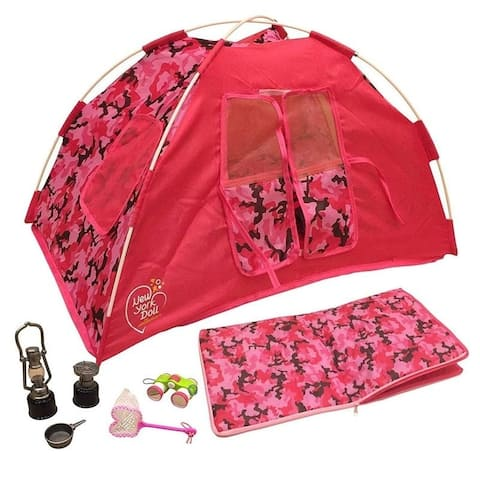 """Camping Set For 18"""" Doll"""