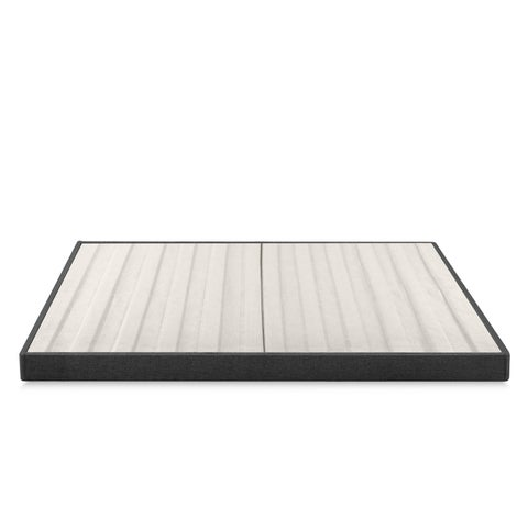 Priage 4 Inch Essential Box Spring, Mattress Foundation, Easy Assembly Required - N/A