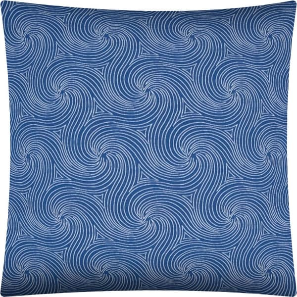 Shop Tsunami Indoor Outdoor Pillow Sewn Closure Free Shipping